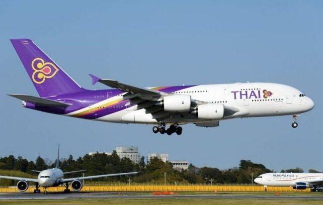 Airbus A380-841, Thai Airways International