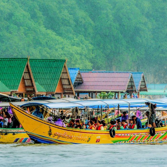 Koh Panyee Thailand Floating Fishing Village Phuket