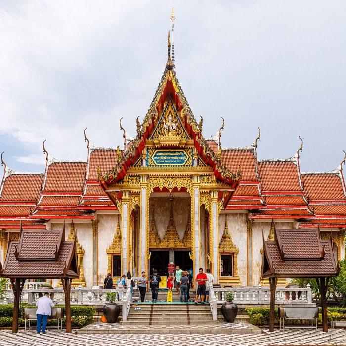 Phuket Thailand Wat-Chalong