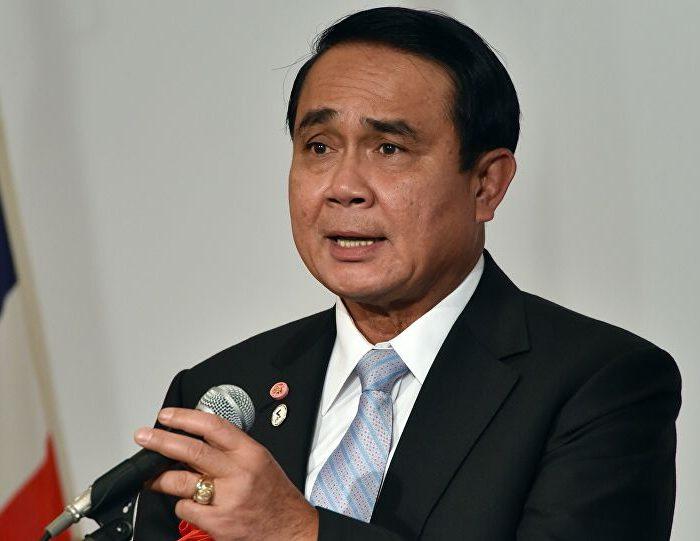 Prime Minister Prayut Chan-o-cha Speaking