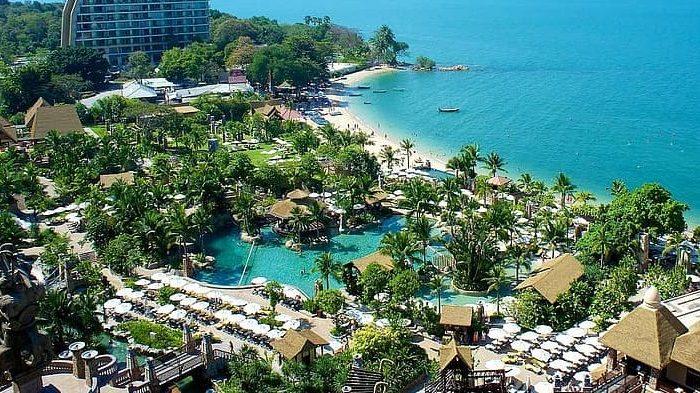 thailand pattaya centara grand mirage hotel