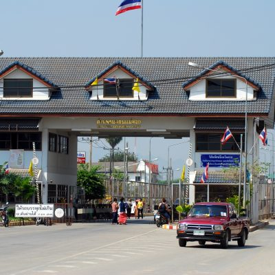 Border Town Shut Down as 3 Burmese Drivers Test Positive for COVID-19