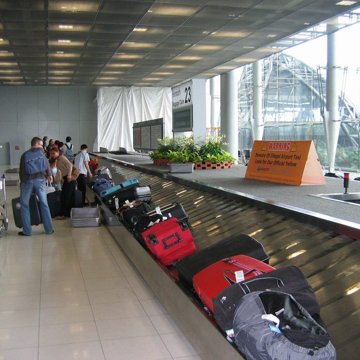 Thailand Airport baggage