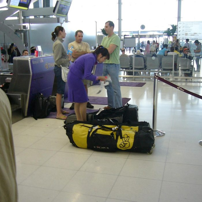 Thailand baggage area