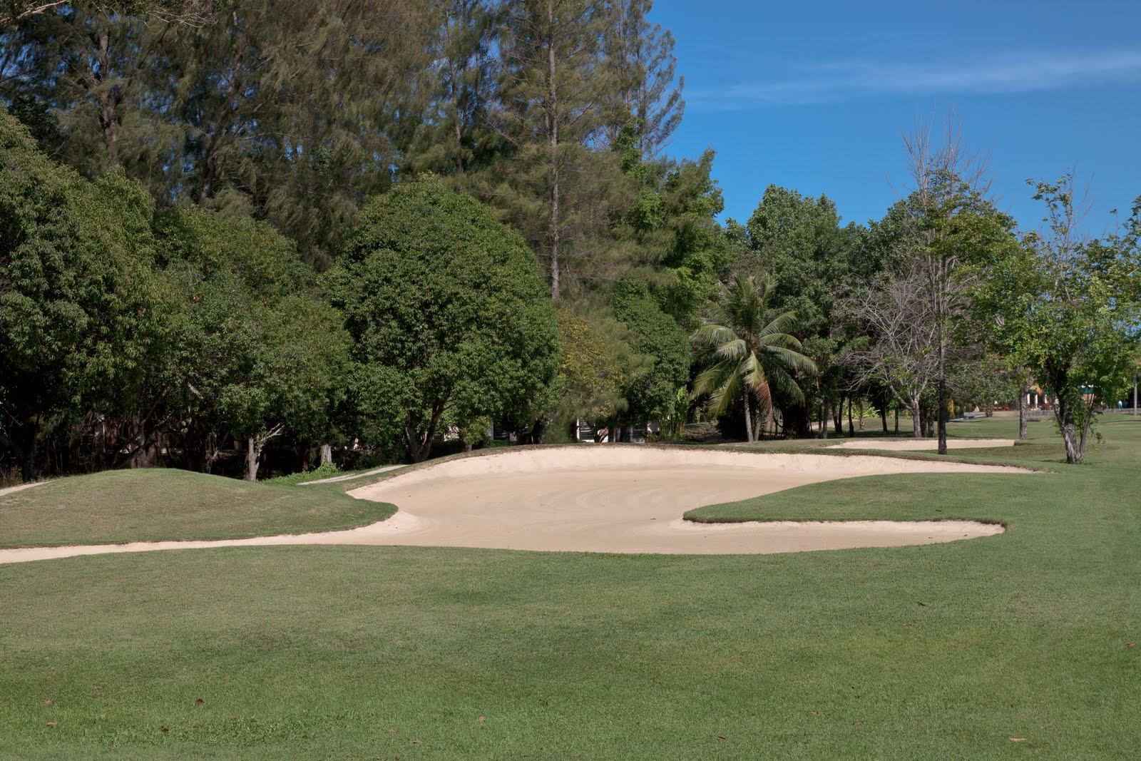 Golf quarantine