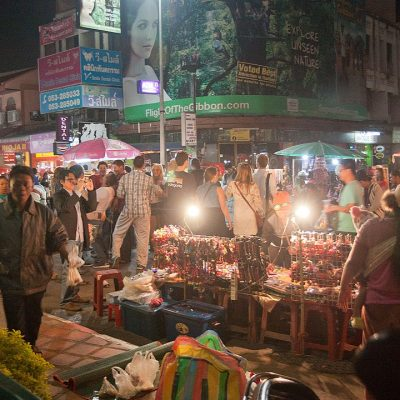 Chiang Mai Markets Become Busy Again After Initial Virus Scare