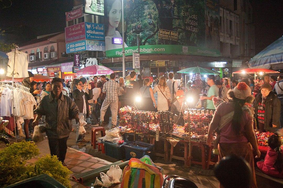 NYE, Chiang Mai markets