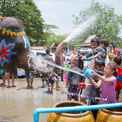 No Water Fights for Songkran
