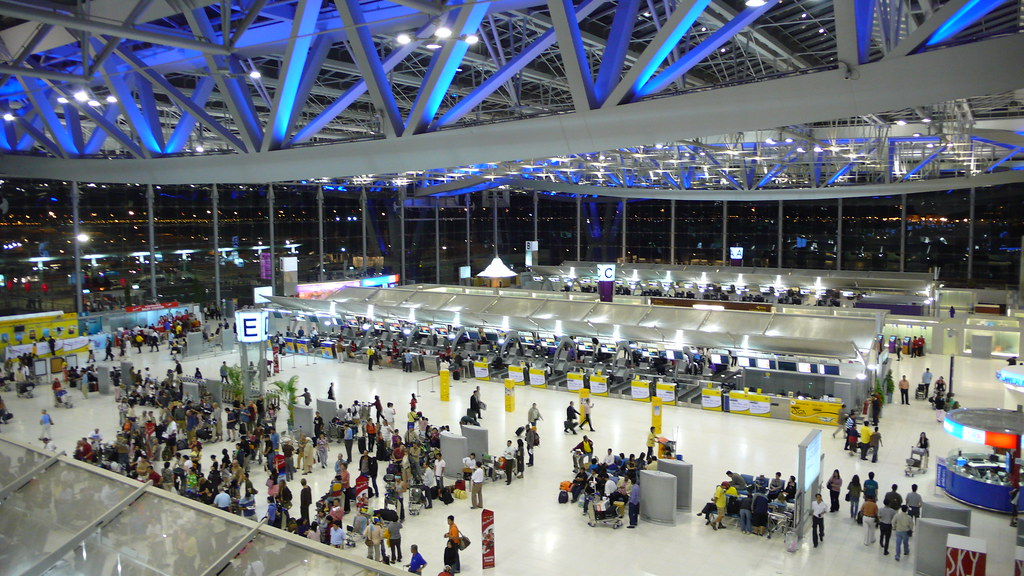 Suvarnabhumi Airport Thailand