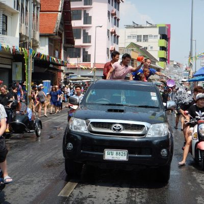 Local Tourists Offered Special Insurance Policy for Songkran