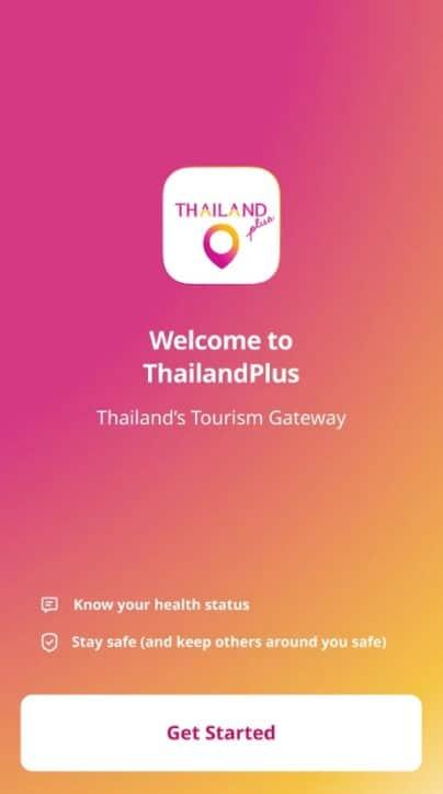 thailand plus app welcome image