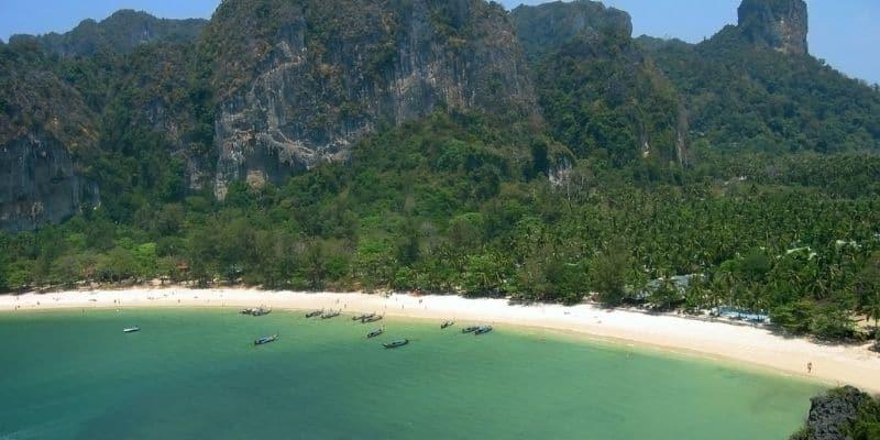 krabi bay thailand
