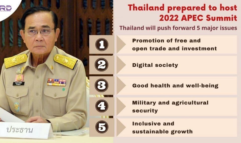 APEC Summit 2022 Thailand
