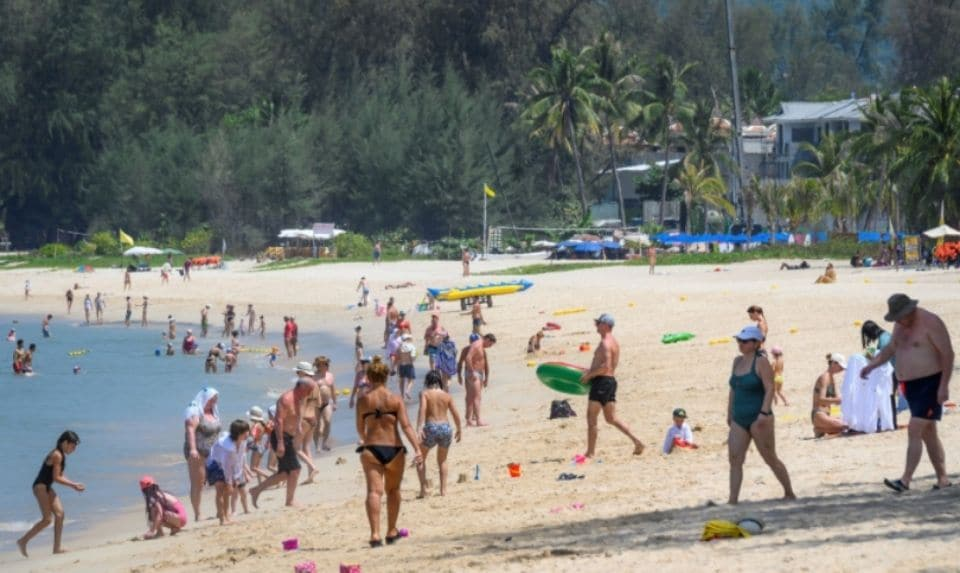 tourists in phuket