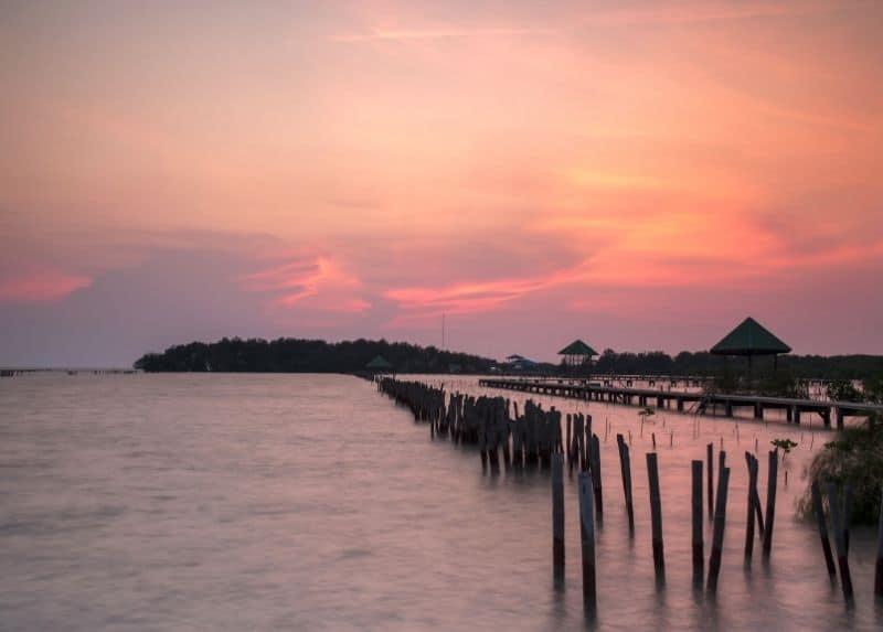 seascape of Koh Klang island