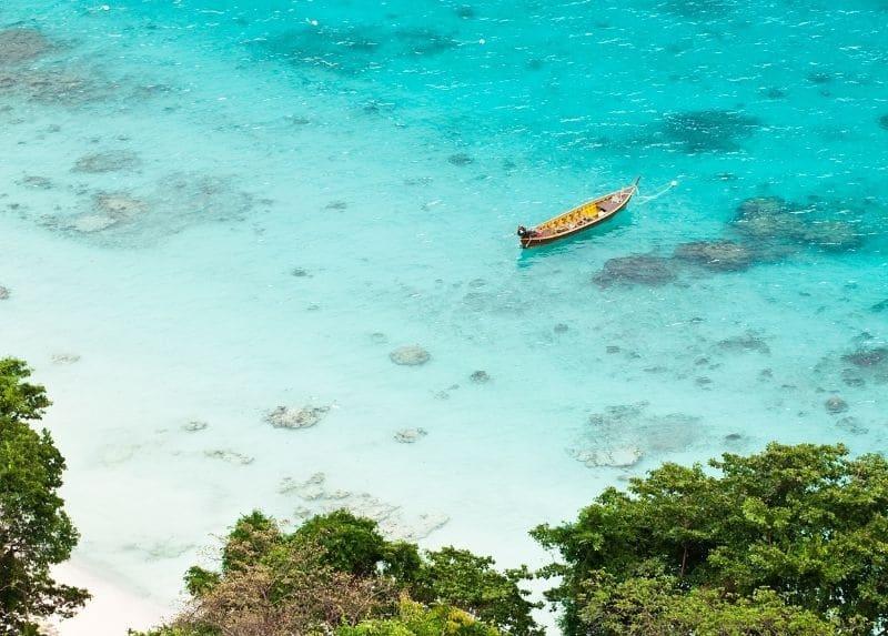 Similian island bay