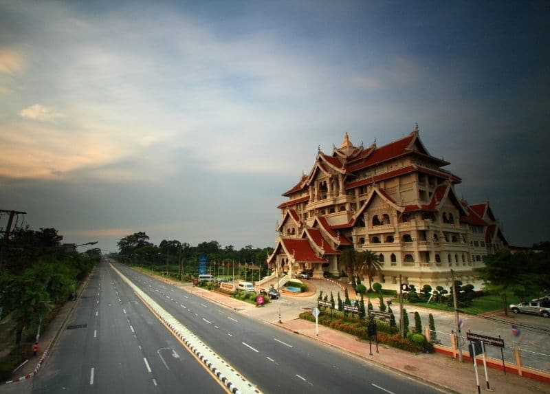 Culture center in Ubon Ratchathani