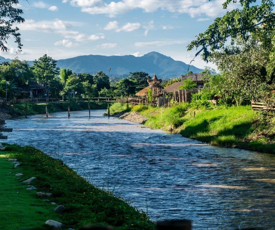 River at Pai, Thailand