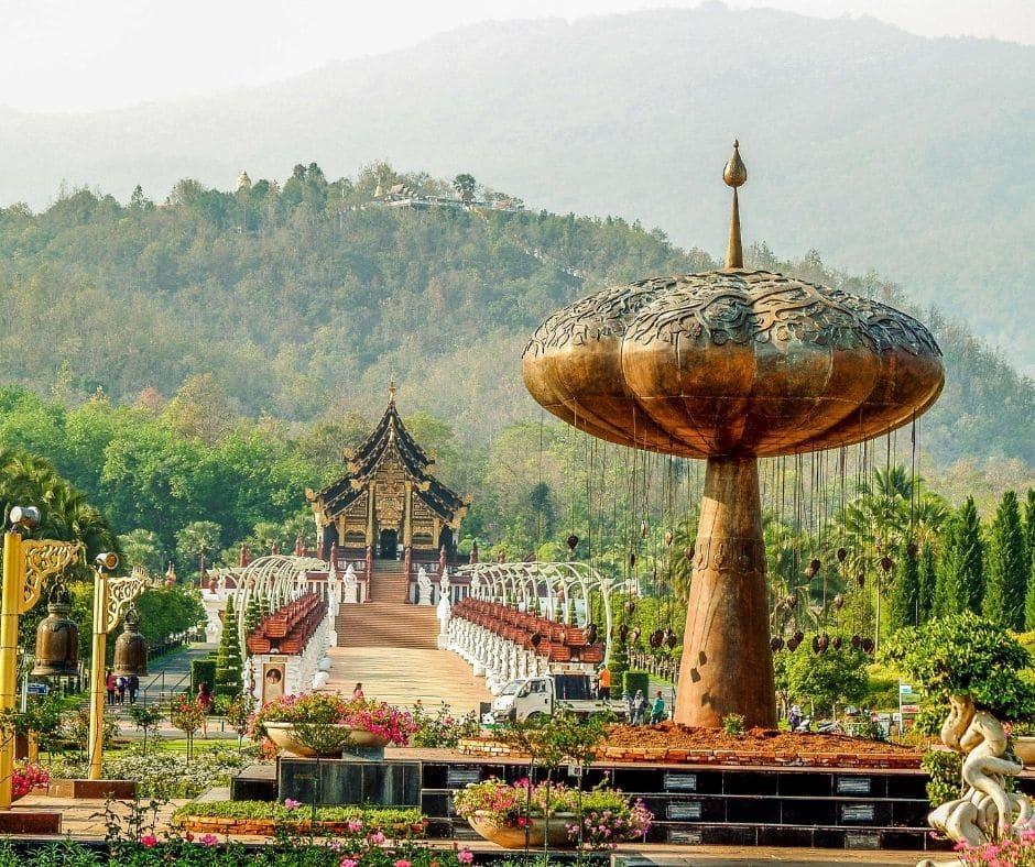 Royal Pavilion, Chiang Mai, Thailand