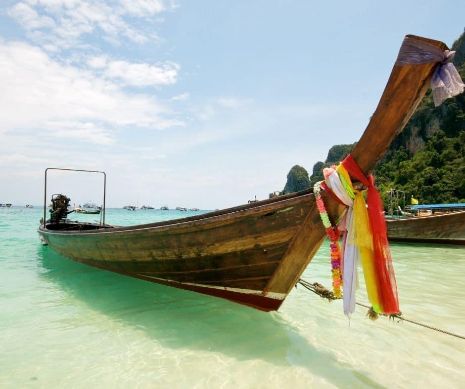 beach boat thailand