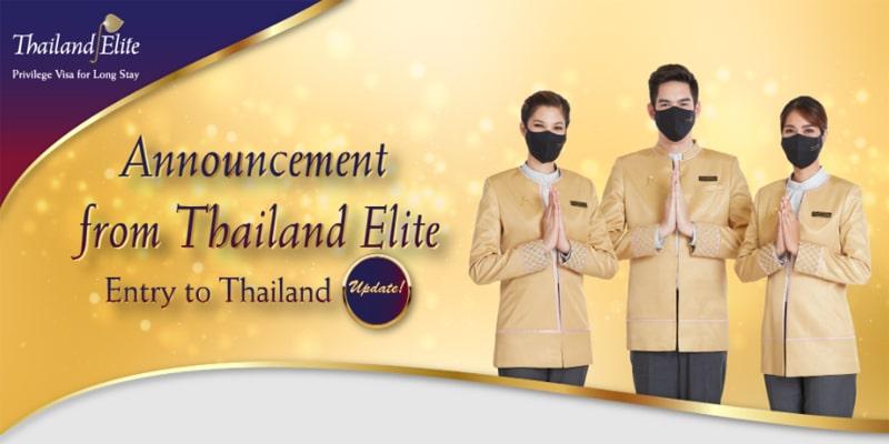 thailand elite service announcement